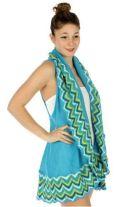 Blue Knit Vest