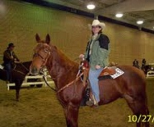 2007 and my favorite horse memory- getting to compete at QH Congress. That was also a great riding weight for me.
